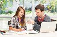 Student receives tutoring